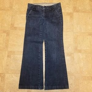 Madewell Blue Jeans Flare/Wide Leg Size 26